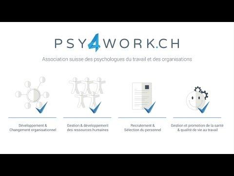 PSY4WORK.CH - le réseau Suisse des psychologues du travail et des organisations