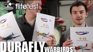 Flite Test - Durafly Warbirds - REVIEW