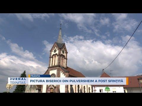 Pictura bisericii din Pulversheim a fost sfintita