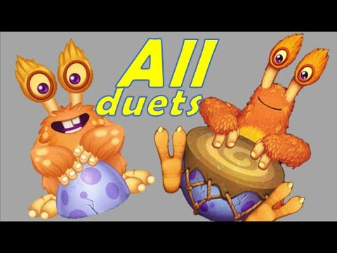 All Congle duets with all monsters - My Singing Monsters Dawn of Fire
