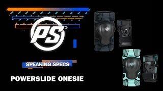 Powerslide Onesie knee pads and wrist guards - Powerslide Speaking Specs