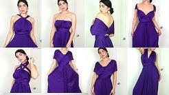+8 WAYS to Wear a CONVERTIBLE INFINITY DRESS  | DressandCharm.com