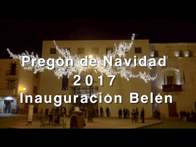 VILLENA Pregón de Navidad 2017