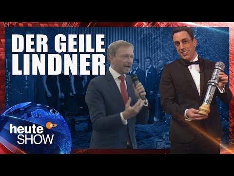 Der goldene Vollpfosten für Christian Lindner | heute-show vom 15.12.2017