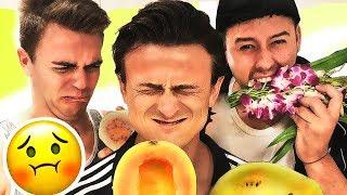 Wir testen 10 krasse Früchte! | mit CrispyRob & SimonWill