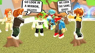 FUNNIEST BACON RAP BATTLE EVER! Roblox Auto Rap Battles Park | Roblox Funny Moments