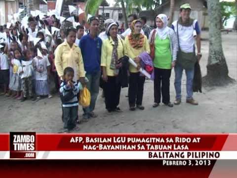 Balitang Pilipino : Rido settlement, Humanitarian mission sa Tabuanlasa