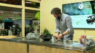 Demo Pim van den Akker, Royal FloraHolland Seasonal Trade Fair @Florist Event