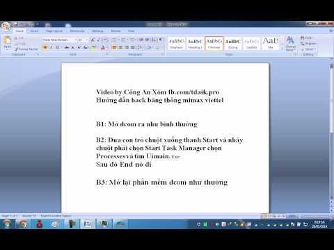 cách hack băng thông dcom 3g viettel 2015 - Hướng dẫn hack băng thông mimax dcom viettel 2014