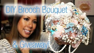 Wedding Series:  DIY Brooch Bouquet and Giveaway