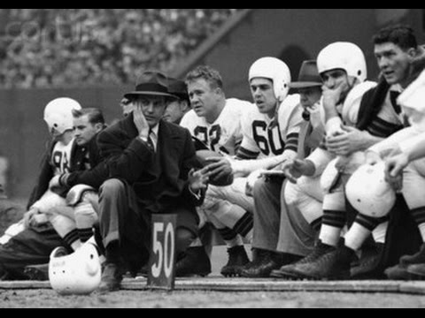 1946 Browns Highlights - YouTube