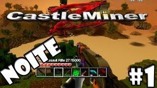 Castle Miner Z Introdução A Primeira Noite