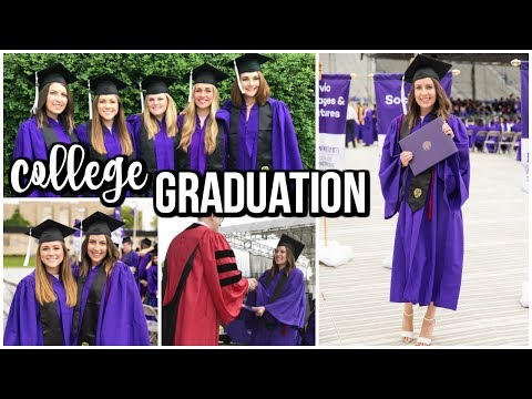 College Graduation Vlog || Northwestern University Graduation