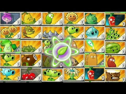 Plants vs Zombies 2 Epic Hack : All Plants All Tiles Starting Boost - Ultimate Power Up Part 1