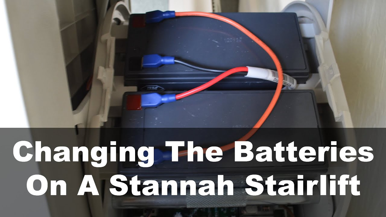 Changing The Batteries On A Stannah Stairlift – Ask A Builder