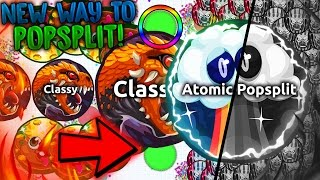 Agar.io - *ATOMIC POPSPLIT!* // NEW WAY TO POPSPLIT! // 100+ POPSPLITS! - BEST MOMENTS!