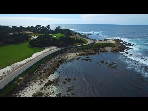 Pebble Beach - Monterey California - Phantom 3 Pro