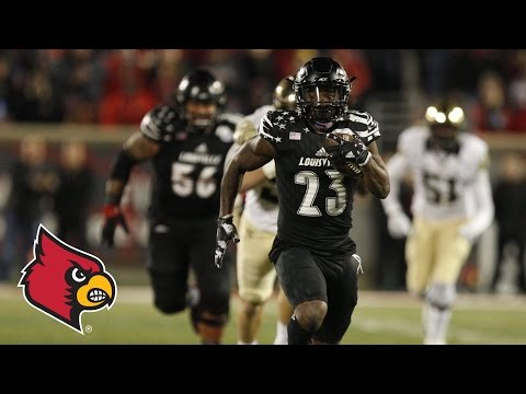 Wake Forest vs. Louisville Football Highlights (2016)