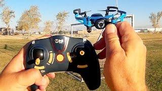 JXD 512V Bebop Micro Camera Clone Drone Flight Test Review