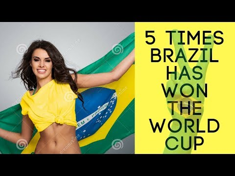⚽⚽ 5 TIMES BRAZIL HAS WON THE WORLD CUP.!!⚽⚽ (1934-2014). All Years!!