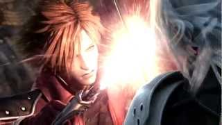 "[1080p] Crisis core Final Fantasy VII ""Genesis VS Sephiroth"""