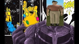 Thanos Snaps his finger... COZ OF ROBLOX ANTHRO!!