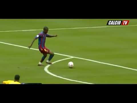 Arsenal Barcelone 2006 - Faute de Jens Lehmann