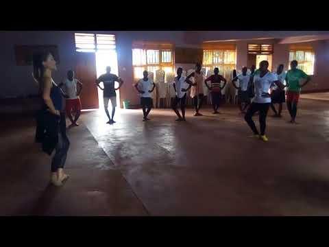 Teaching Beginner Ballet in Uganda