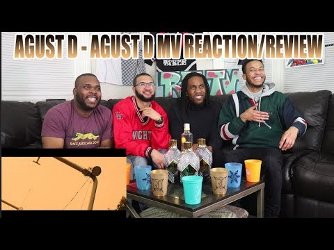 FIRST EVER AGUST D - AGUST D MV REACTION/REVIEW!