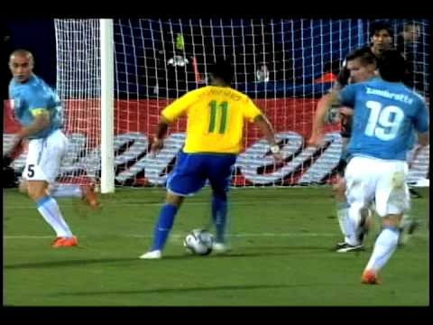Italy 0-3 Brazil: Luis Fabiano 2nd Goal