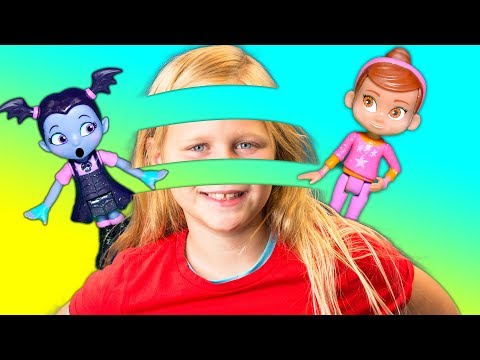 Vampirina and Poppy tricked by the Assistant at the Scare BnB with her Invisibility Cloak
