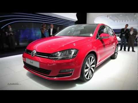 New 2014 Volkswagen Golf - 2012 Paris Motor Show