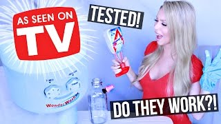 TESTING Weird *As Seen on TV* Cleaning Products
