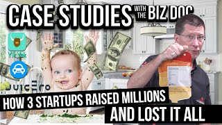 How 3 Startups Raised Millions and Lost it All - A Case Study for Entrepreneurs