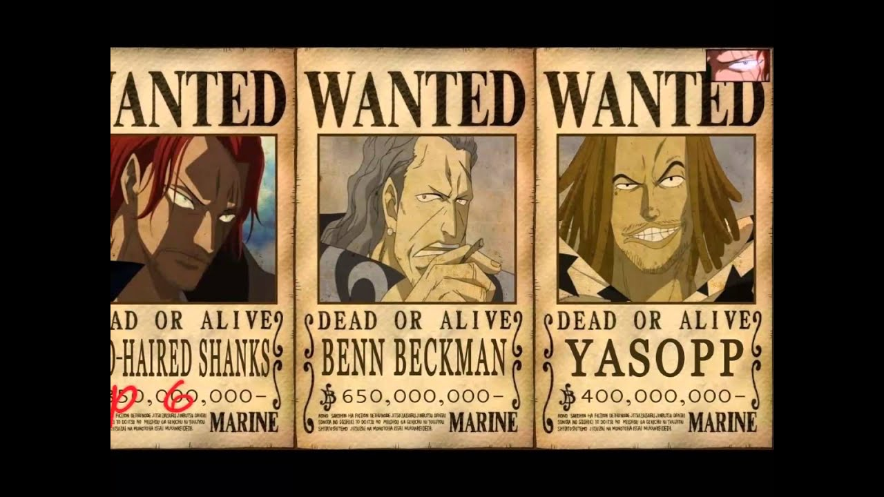 One Piece Rothaar Shanks The Very Very Very Strongest ...  One