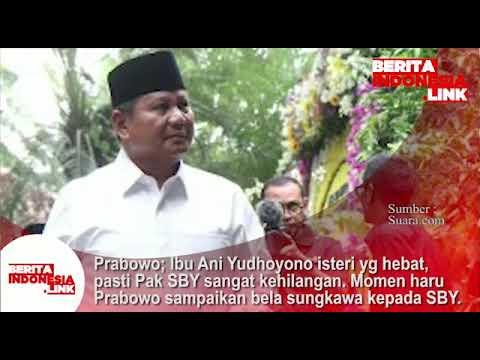 Prabowo takziah ke rumah SBY di Cikeas 3 Juni 2019.