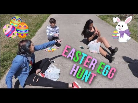 Easter Egg Hunt with Tiff and Belle - YouTube