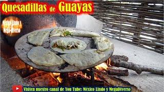 Asi se hacen las Quesadillas de FLOR de Calabaza en Oaxaca 🌼 🔥