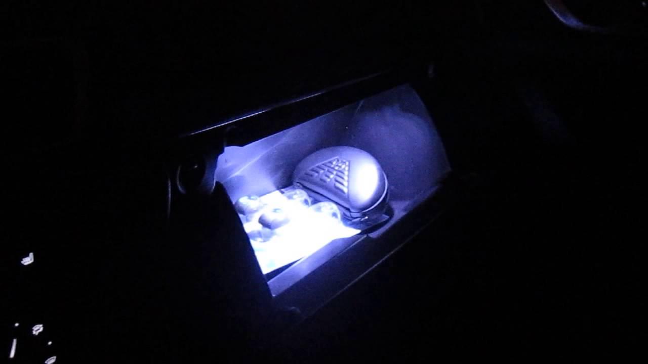 Mazda glove box lamp youtube