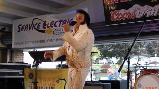 Elvis (Andy Svrcek) - If I Can Dream - Coplay - August 24, 2014