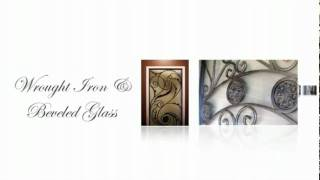 Lusso Glass - Wrought Iron Door inserts 2