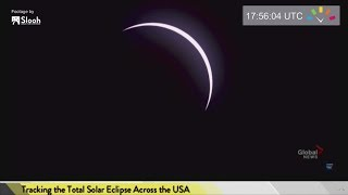 August 21, 2017 Total Solar Eclipse by : timeanddate