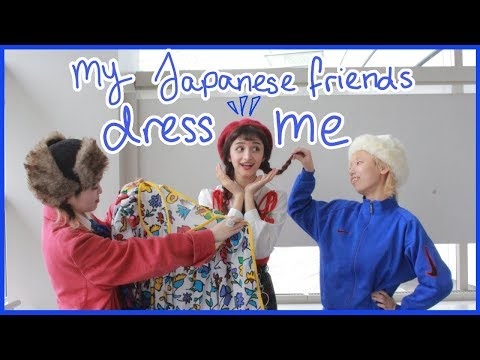 My Japanese Classmates Choose My Outfits FOR A WEEK || Bunka Fashion College