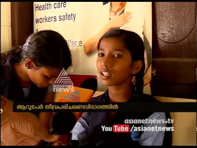 Ernakulam GOVT VHSS AMBALAMUGAL students admitted hospital