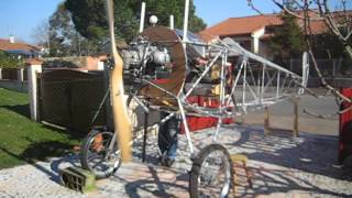 Essai moteur BMW sur Nieuport 17 ULM