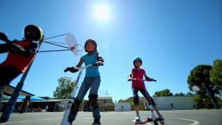 Yvolution Yfliker Kids Scooter - Now Available At Kmart!