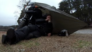 Shout Back To General Banter and Motorcycle Tarp Setup