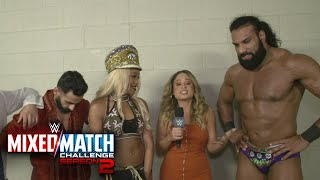 Are The Singh Brothers part of Jinder Mahal & Alicia Fox's Mixed Match Challenge team?