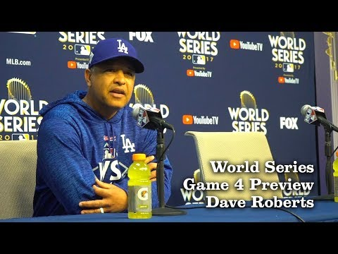 Dave Roberts Previews Game 4 Of The World Series   Los Angeles Times