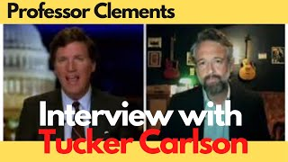 TUCKER Carlson INTERVIEW with Law Prof. David Clements